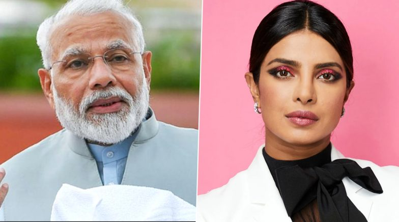 Priyanka Chopra Thanks PM Narendra Modi for Lauding Her Contribution in the Fight Against COVID-19