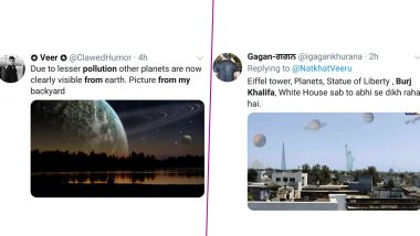 Funny Memes and Jokes: Netizens Can See 'Burj Khalifa' and 'Entire Solar System' From Their Houses Amid Lockdown After Dhauladhar Mountain Range Became Visible from Jalandhar!