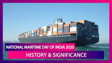 National Maritime Day Of India 2020: Know History & Significance Of The Day