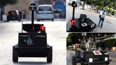 Tunisia Deploys Robocop 'PGuard' to Keep an Eye on Coronavirus Lockdown