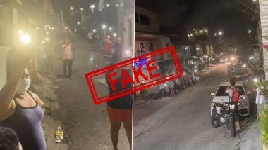 Viral Video Claiming Brazilians Responded to PM Narendra Modi's Call to Light Diyas or Mobile Torchlight to Mark Fight Against Coronavirus is Old