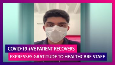 COVID-19 Positive Patient Expresses Gratitude To Doctors, Nurses, Healthcare Workers After Recovery