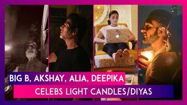 The Bachchans, Akshay Kumar, Alia Bhatt Light Candles, Diyas To Support PM Modi's 9pm, 9minutes Call
