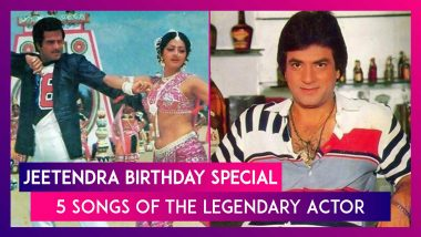 Jeetendra Birthday Special: 5 Songs Of The Legendary Actor That Will Always Be Fan Favourites
