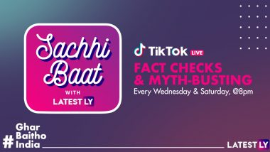 LatestLY and TikTok Collaborate for a Live Infotainment Show, Sachhi Baat With LatestLY
