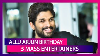 Allu Arjun Birthday: From Arya To Rudhramadevi - 5 Mass Entertainers Of This Tollywood Hero You Shouldn't Miss!