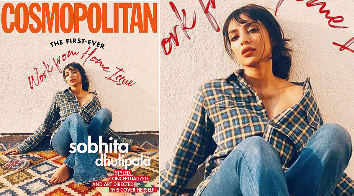 Sobhita Dhulipala Becomes Her Own Stylist, MUA and Photographer for This Unique 'Work From Issue' of Cosmopolitan Magazine (See Pic)
