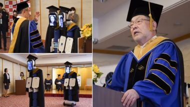 Zoom-Enabled Virtual Graduation Ceremony Organised by Business Breakthrough University in Japan! Students Use Avatar Robots to Receive Their Diplomas