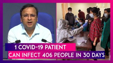 1 COVID-19 Patient Can Infect 406 People In 30 Days If Social Distancing Is Not Followed: ICMR Study
