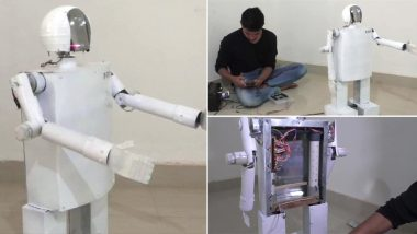 Chhattisgarh Student Designs Robot to Help Doctors in COVID-19 Treatment, Urges Govt to Provide Funds to Make Robots