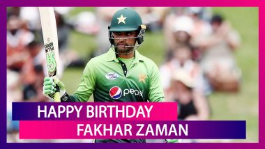 Happy Birthday Fakhar Zaman: Things To Know About The Dashing Pakistani Opener