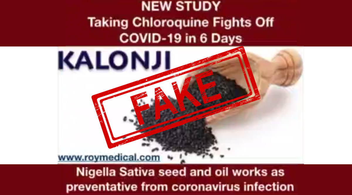 Can Kalonji Seeds or Nigella Sativa Oil Cure COVID-19 Because They Contain Hydroxychloroquine? Here's The Truth About The Message Going Viral as Home Remedy