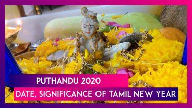 Puthandu 2020: Date, Significance, Meaning Of Puthandu Vazthuka & Celebrations Of Tamil New Year