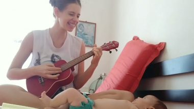 Kalki Koechlin Plays the Ukulele and Sings an African Lullaby For Her Daughter Sappho and It's the Cutest Thing You'll See Today (Watch Video)