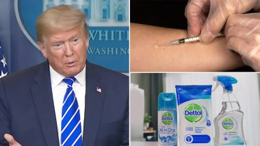 Don't Inject Dettol Liquid Into Your Veins to Treat Coronavirus! Disinfectant Manufacturer Issues Warning Statement After Donald Trump's Bizarre Suggestion
