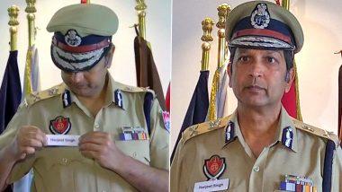 #MainBhiHarjeetSingh: Punjab DGP Dinkar Gupta Changes Name on His Badge to Harjeet Singh to Honour ASI Whose Hand Was Chopped Off by Nihangs