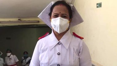 Kishori Pednekar, BMC Mayor, Dons Nurse Uniform to Boost Morale of Medical Staff at Mumbai's Nair Hospital Amid Coronavirus Outbreak; Watch Video