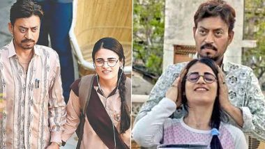 Irrfan Khan Death Anniversary: Radhika Madan Pays a Heartfelt Tribute to the Late Actor, Shares a Picture From Angrezi Medium