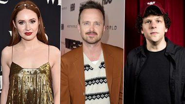 Dual: Karen Gillan Boards Aaron Paul, Jesse Eisenberg Starrer Sci-Fi Thriller
