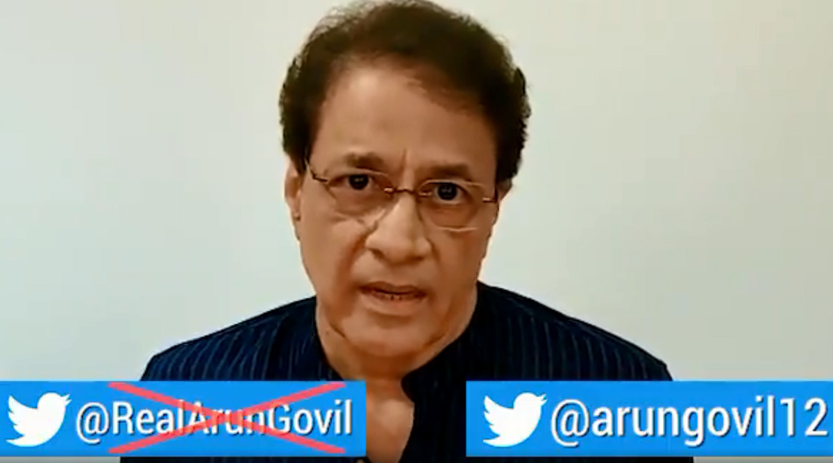 Ramayan Actor Arun Govil Reveals his Real Twitter Account and Urges His Fans to Stop Following the Impostor (Watch Video)