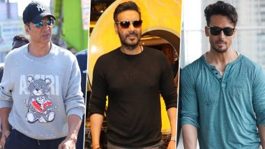 Akshay Kumar, Ajay Devgn, Tiger Shroff and Other B-Town Celebs Salute Mumbai Police's Relentless Hardwork During COVID-19 Lockdown (Read Tweets)