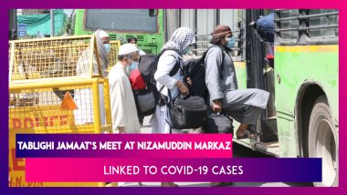 Tablighi Jamaat Meet At Nizamuddin Markaz Linked To Multiple COVID 19 Positive Cases Across India