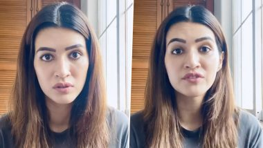 Mimi: Kriti Sanon Film's Released Date Will Be Pushed, Hints Director Laxman Utekar, Says, 'Almost the Entire Film Is Shot but a Song Is Left'