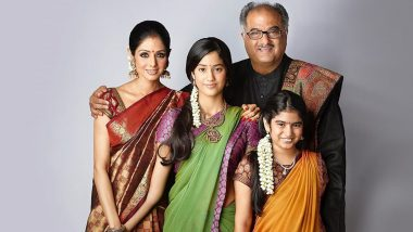 Janhvi Kapoor and Khushi Kapoor's Perfect Family Picture With Parents Sridevi and Boney Kapoor is the Best Throwback Post You'll See Today (View Pic)