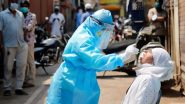 India's COVID-19 Tally Crosses 55.62 Lakh With 75,083 New Cases & 1,053 Deaths Due to Coronavirus in Past 24 Hours
