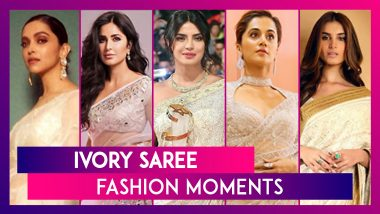 Deepika Padukone To Priyanka Chopra, Times When Stars Weaved Some Ivory Magic With Their Sarees!