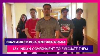Indian Students In The U.S. Want To Return, Request Central Government's Help To Get Back Home
