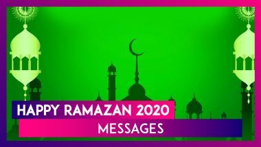 Happy Ramazan 2020 Messages: WhatsApp Greetings, Quotes & Images To Mark The Holy Start Of Ramadan