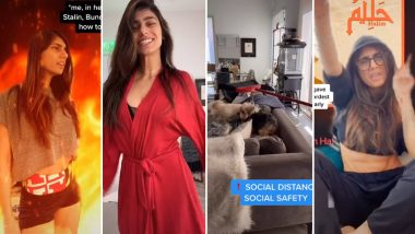 Mia Khalifa Loves TikTok and Found a 'Whole New World' for Herself as #JusticeForMiaKhalifa Goes Viral with Gen Z in Full Support of the Ex-Pornstar