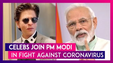 Shah Rukh Joins Fight Against COVID-19, Taapsee Pannu, Others React To PM Modi's Call To Light Diyas