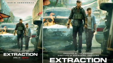 Extraction Poster Out! Chris Hemsworth's Next with Russo Brothers To Hit Netflix on April 24