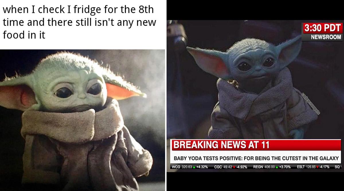 Viral News | Funny Baby Yoda Memes and Jokes: From ...