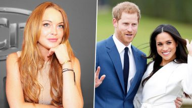 Lindsay Lohan Shares Her Advice for Prince Harry and Meghan Markle on How to Avoid Paparazzi After COVID-19 Pandemic Ends