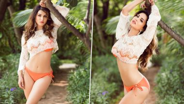 Sunny Leone Raises Temperatures in an Orange Bikini and We Think She's Hotter than Summer! (View Pic)
