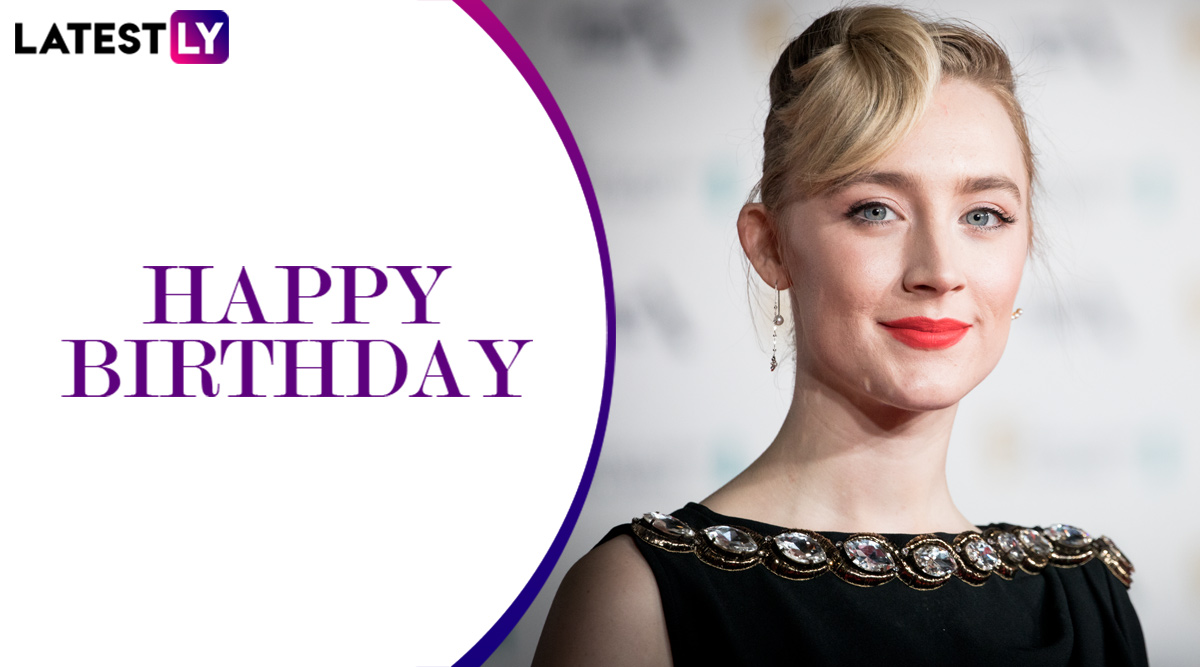 Saoirse Ronan Birthday Special: From Little Women to Lady Bird, Movies That Prove She's a Powerhouse of Talent