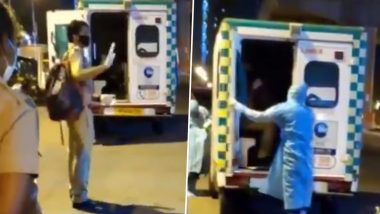'I'll Be Back Soon': Mumbai Police Personnel Keeps Spirit Hight After He Contracts Coronavirus, Asks Colleagues Not to Take Tension (Watch Video)