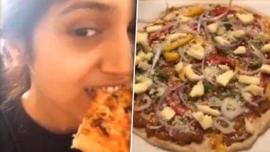Bhumi Pednekar's Homemade Pizza Looks So Tempting That We Feel Like Tasting Every Bit of It (Watch Video)