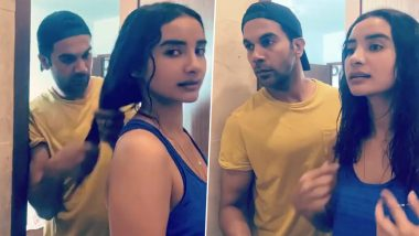 Lockdown Diaries: Rajkummar Rao Turns Into a Perfect Hairstylist for His Lady Love Patralekhaa (Watch Video)
