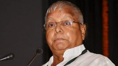 Lalu Prasad Yadav to be Re-Examined For Coronavirus After 3 Attendants Test Positive