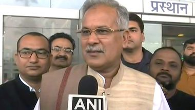 Chhattisgarh CM Bhupesh Baghel Asks PM Modi for Free of Cost COVID-19 Vaccine in State