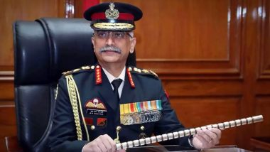 Border Tensions With China: 'Be Prepared for Any Eventuality', Says Army Chief General Manoj Mukund Naravane to Field Commanders