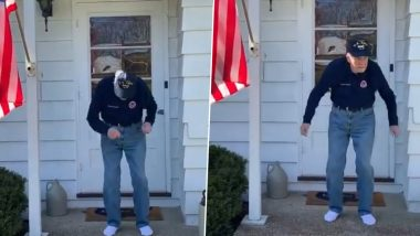 97-Year-Old US Navy Pilot Dancing on Justin Timberlake's Song is Going Viral