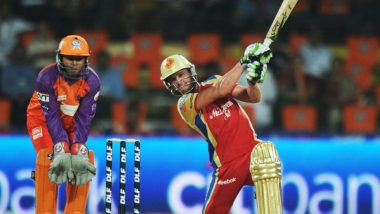 This Day That Year: AB de Villiers Makes His Royal Challengers Bangalore (RCB) Debut in IPL, Wins Player of the Match With Scintillating Performance