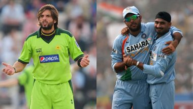 Yuvraj Singh, Harbhajan Singh Pledge to Never Support Shahid Afridi Again After His Controversial Remarks