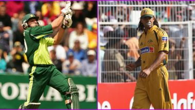 Shahid Afridi on One of His Biggest Sixes in International Cricket, 'Just Wanted to Show My Friend Andrew Symonds Who Was the Big Hitter' (Watch Video)