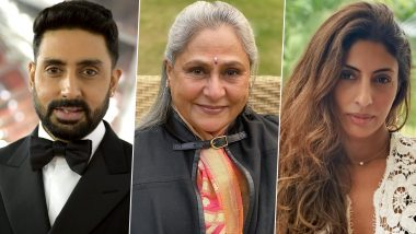 Abhishek and Shweta Post Birthday Wishes For Jaya Bachchan On Instagram!